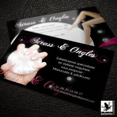 Flyer Strass & Ongles